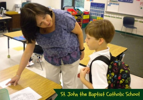 School Spotlight: St. John's Catholic School