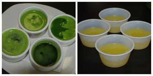 Juice shots!