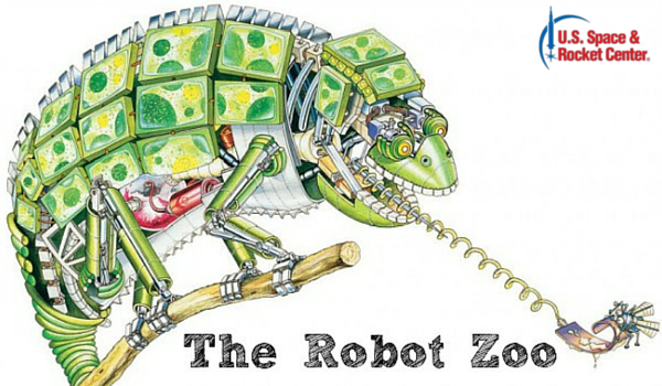 Robot Zoo at the Space & Rocket Center