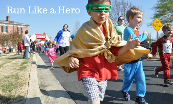 Superhero Run for Child Advocacy