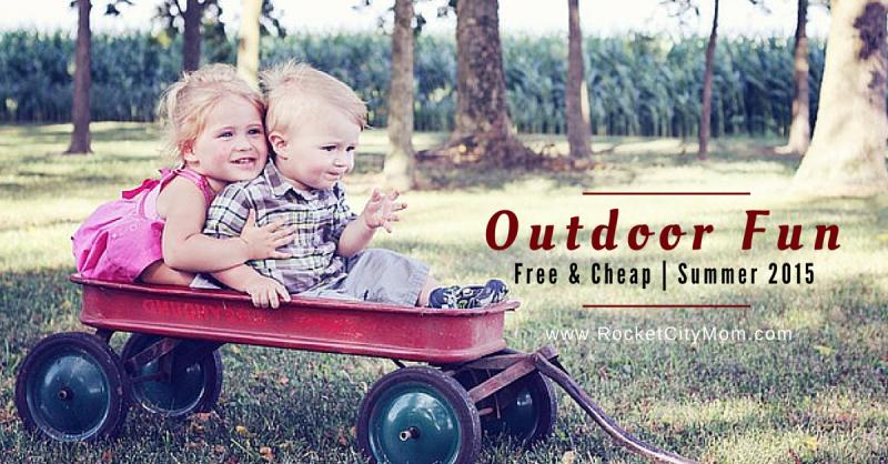 Free (and Cheap) Outdoor Summer Kids' Activities in Huntsville