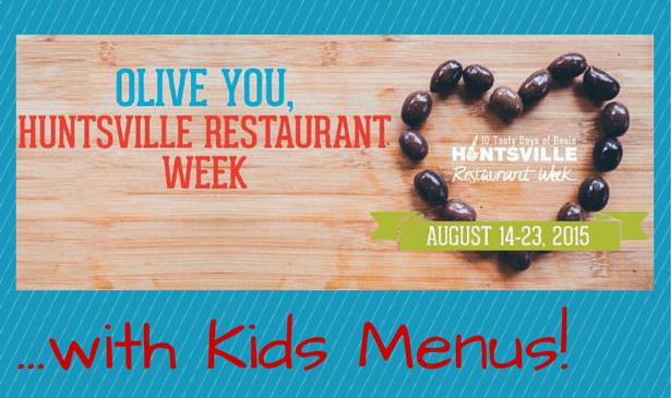 Huntsville Restaurant Week 2015