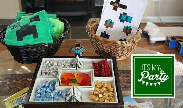 Plan a Minecraft Birthday Party