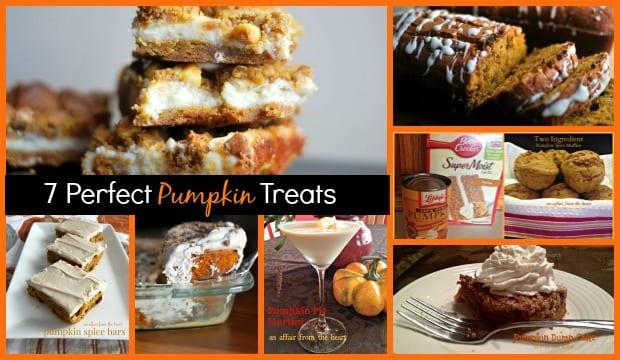 7 Perfect Pumpkin Treats