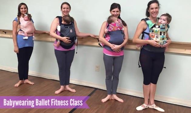 Babywearing Ballet Class