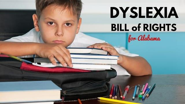 Alabama's New Dyslexia Legislation