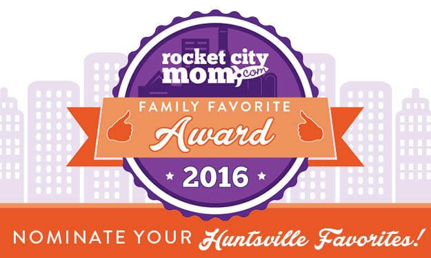 Rocket City Mom's Family Favorite Awards Now Taking Nominations