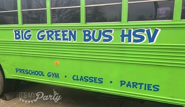 Big Green Bus Birthday Party