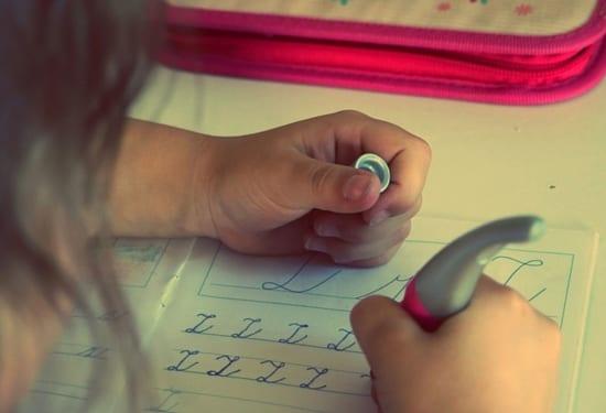 homework classwork girl school