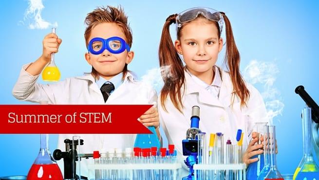 Summer of STEM in Huntsville