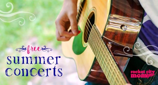 2016 Huntsville Free Summer Concerts