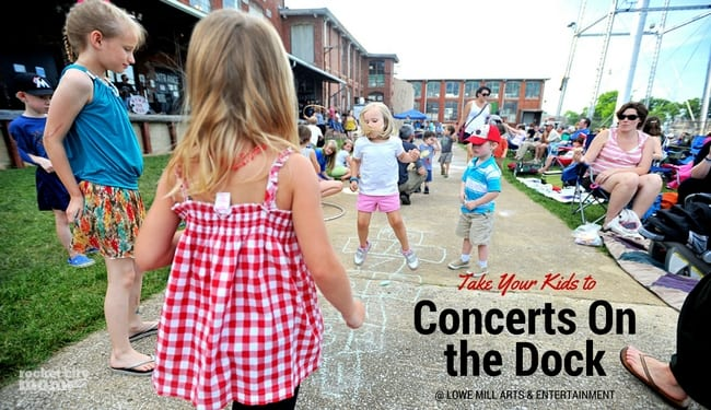Lowe Mill Concerts on the Dock Returns for Spring 2017!