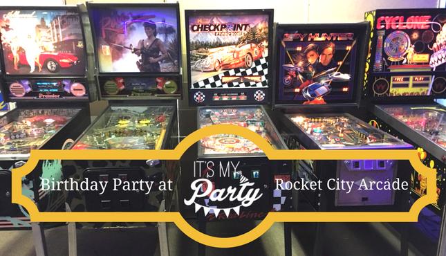 Birthday Party at Rocket City Arcade