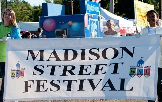 Navigating the Madison Street Festival