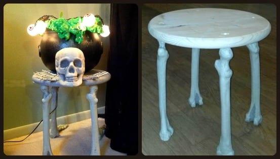 A Spooktacular Table: No Bones About It