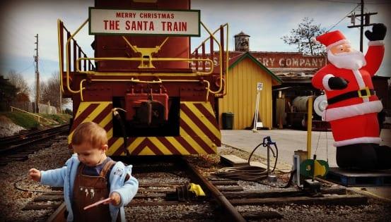 North Alabama Railroad Museum's Santa Train