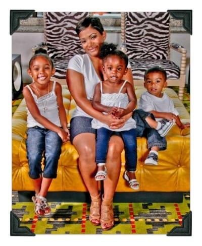 Behind SWAK: Nikki & her amazing family.