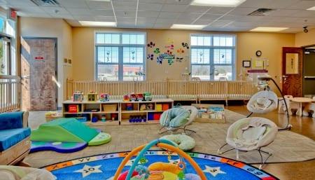 The Infant Room at Hampton Cove Preschool