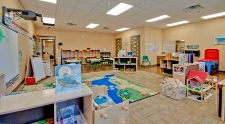 Pre-K Room at Hampton Cove Preschool