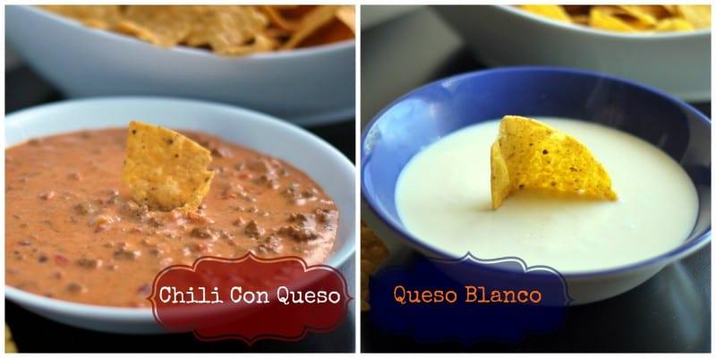 Chili con queso & Queso Blanco
