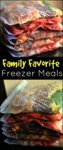 Family Favorite Freezer Meals | Rocket City Mom