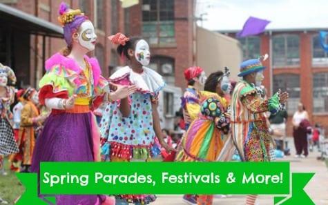 Spring Festivals, Parades, & Special Events