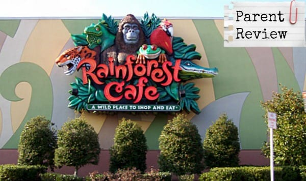 Parent Review: Rainforest Cafe at Opry Mills