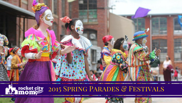 2015 Spring Parades and Festivals in Huntsville & North Alabama