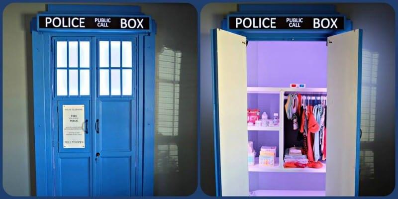 A TARDIS Closet!