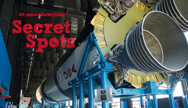Secret Spots at the Space & Rocket Center