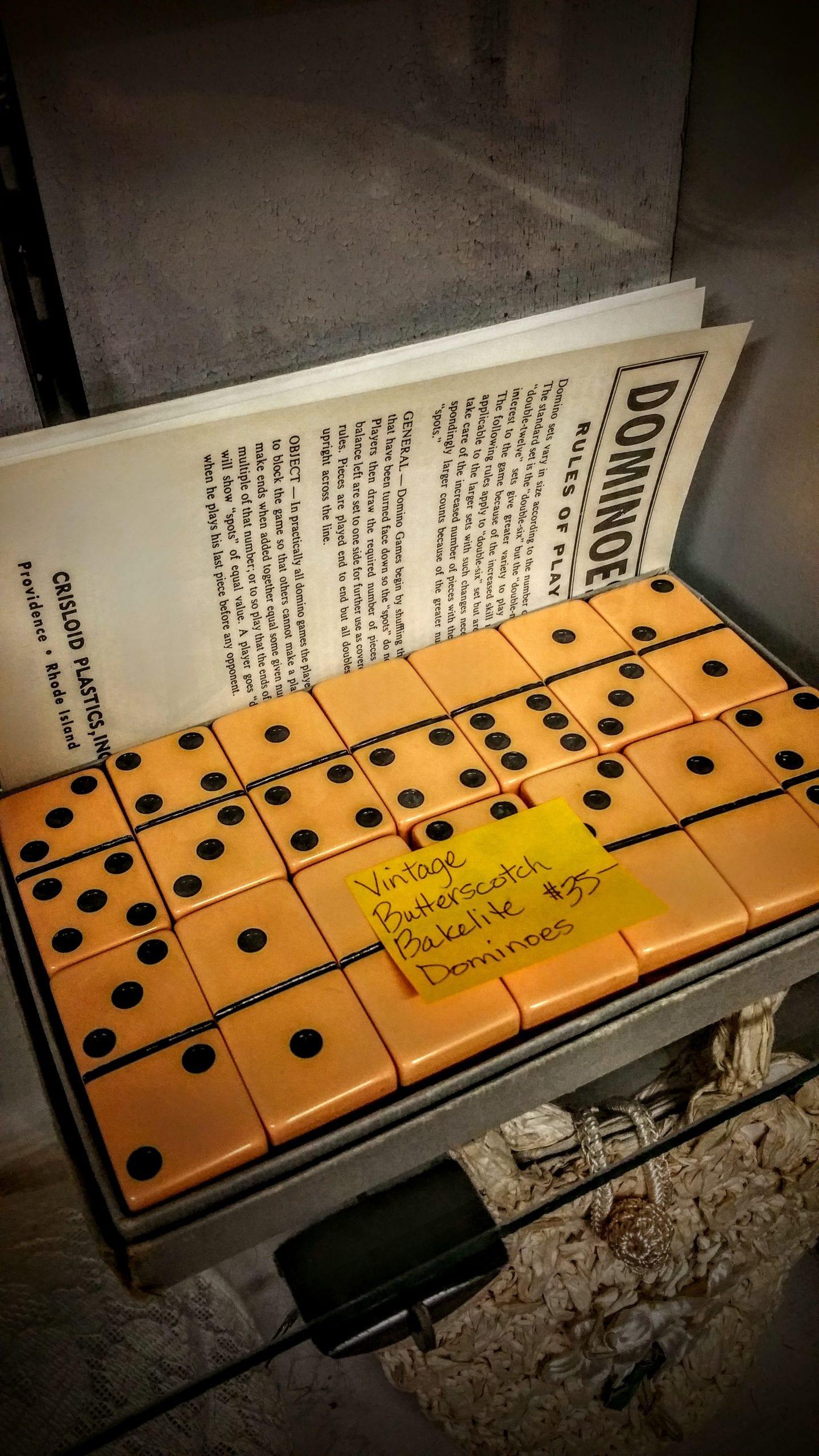 Vintage Dominos for Grandpa