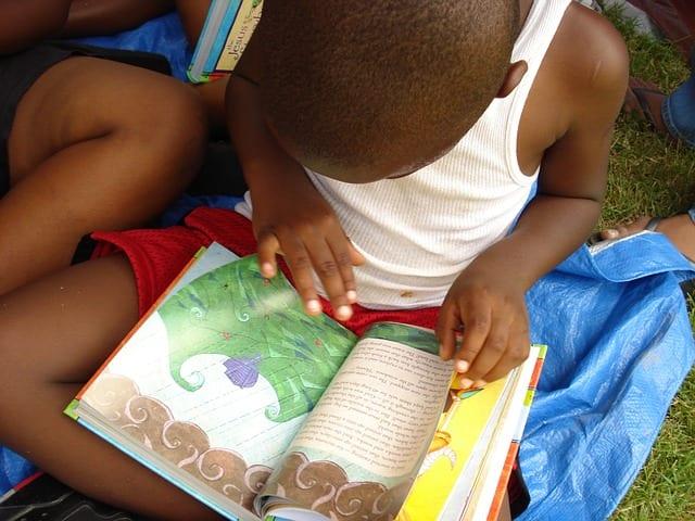 boy reading book 2
