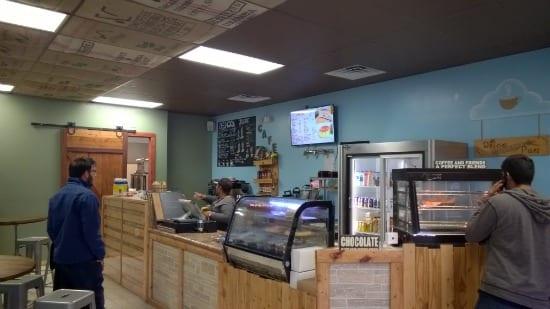 Dolce Bakery Inside