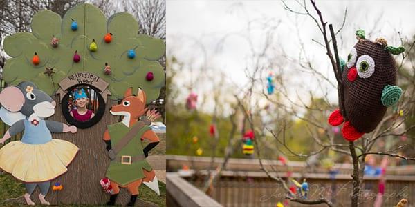 Whimsical Woolly Woods at Burritt 2