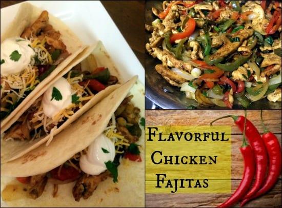 Flavorful Chicken Fajitas Final
