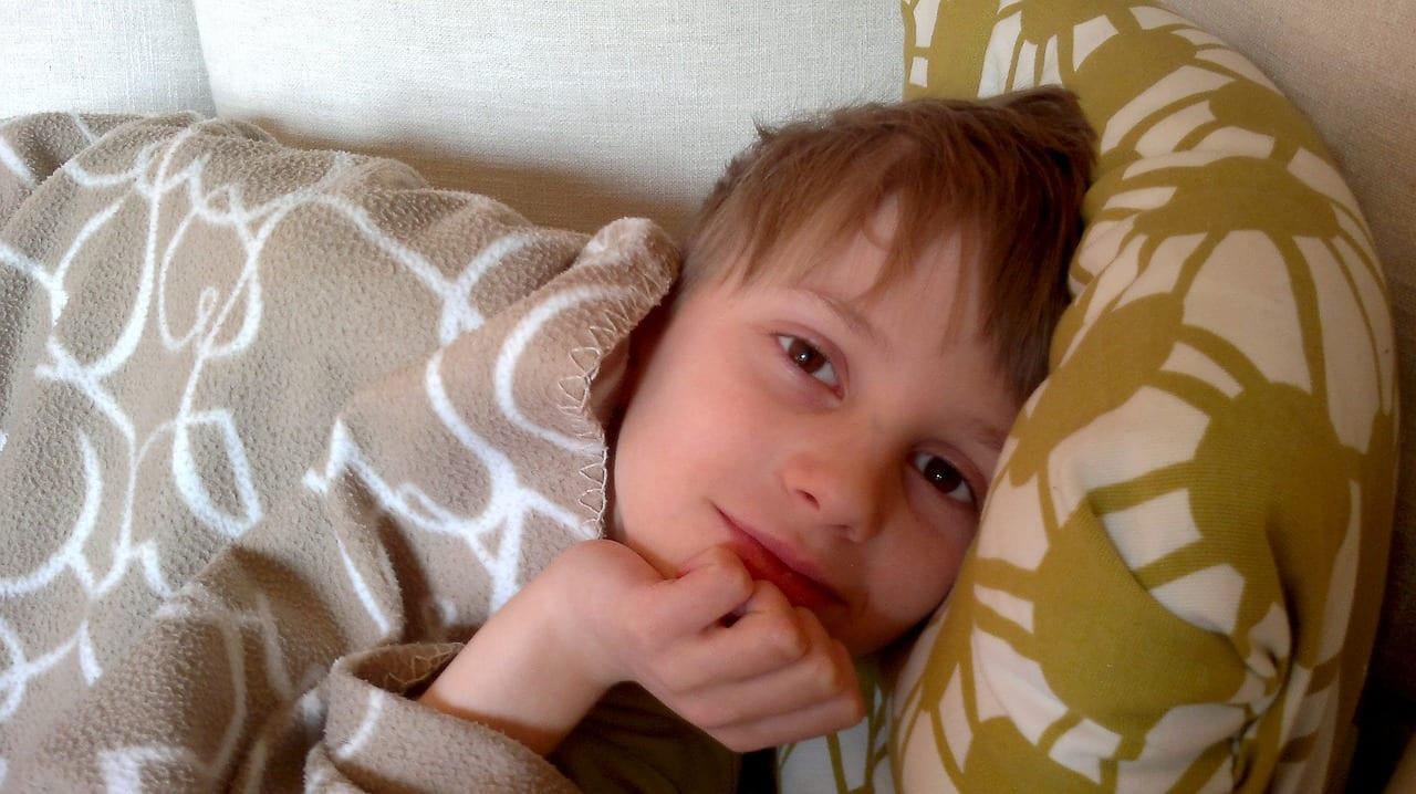 boy bed bedtime sleep