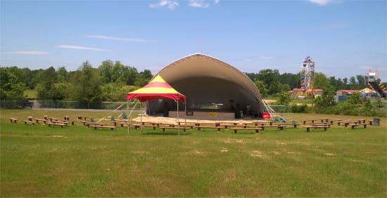 Lake City amphitheater