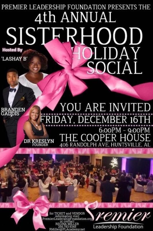 4th annual sisterhood holiday social