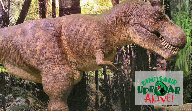 Dinosaurs UpROAR Alive Stomp Into Huntsville!