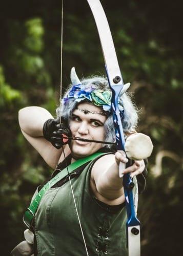 Emerald Winds archery LARP