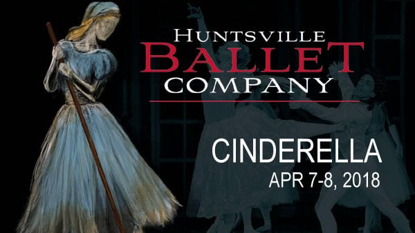 Bibbity Bobbity BOO – Win Cinderella Tickets from Huntsville Ballet!
