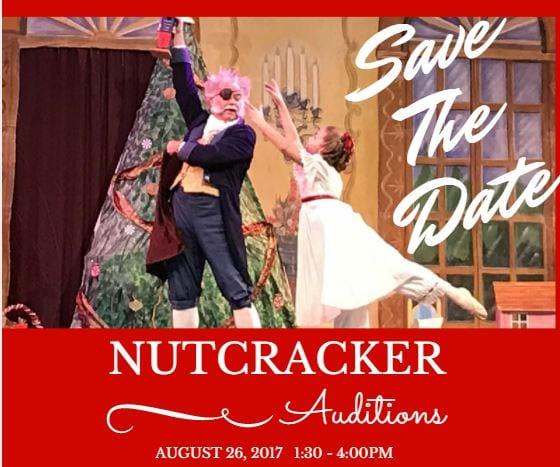 Nutcracker Open Auditions