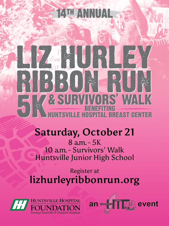 14th Annual Liz Hurley Ribbon Run