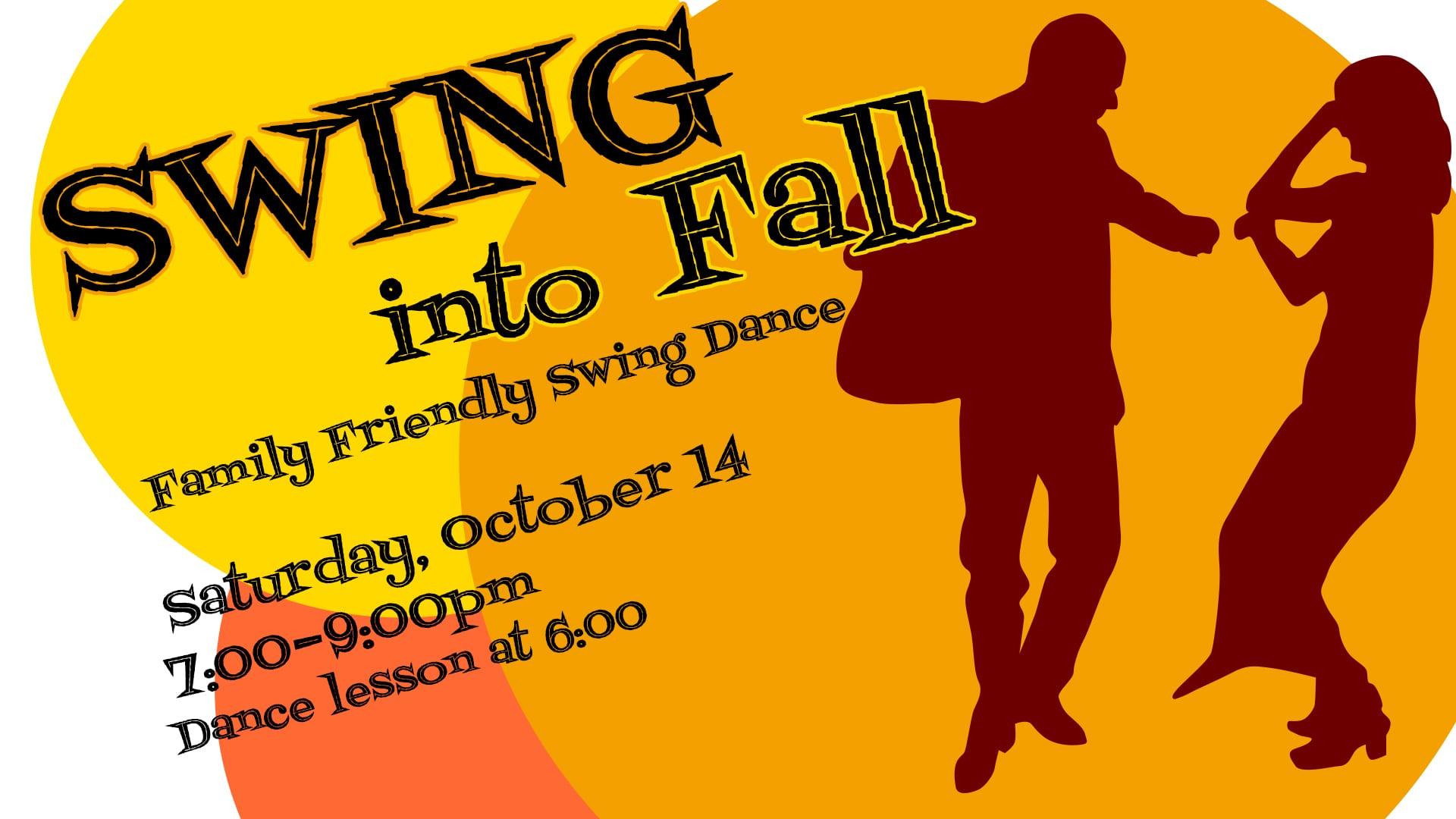 Swing into Fall Family Friendly Swing Dance