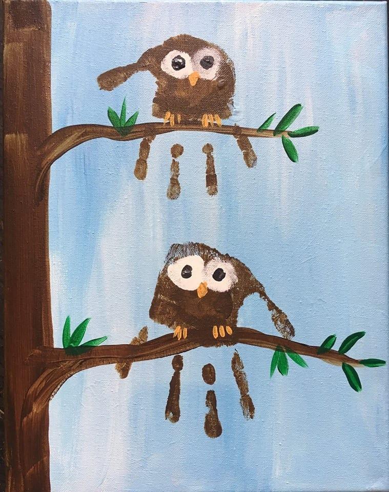 Spirited Art Calendar Huntsville Al : Preschool picasso owls with spirited art rocket city mom