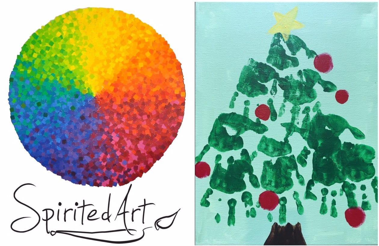 Preschool Picasso Christmas Tree