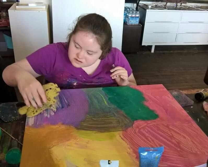 "Dana Anderson ""Beyond Barriers"" Gallery Art Exhibit"
