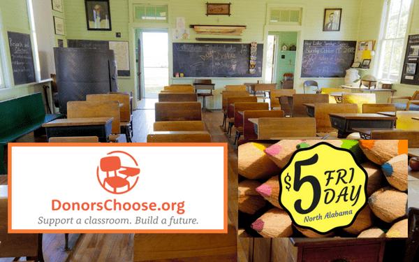 $5 Fridays for North Alabama Schools