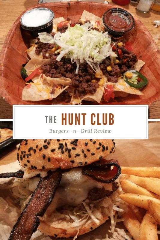 hunt club burgers