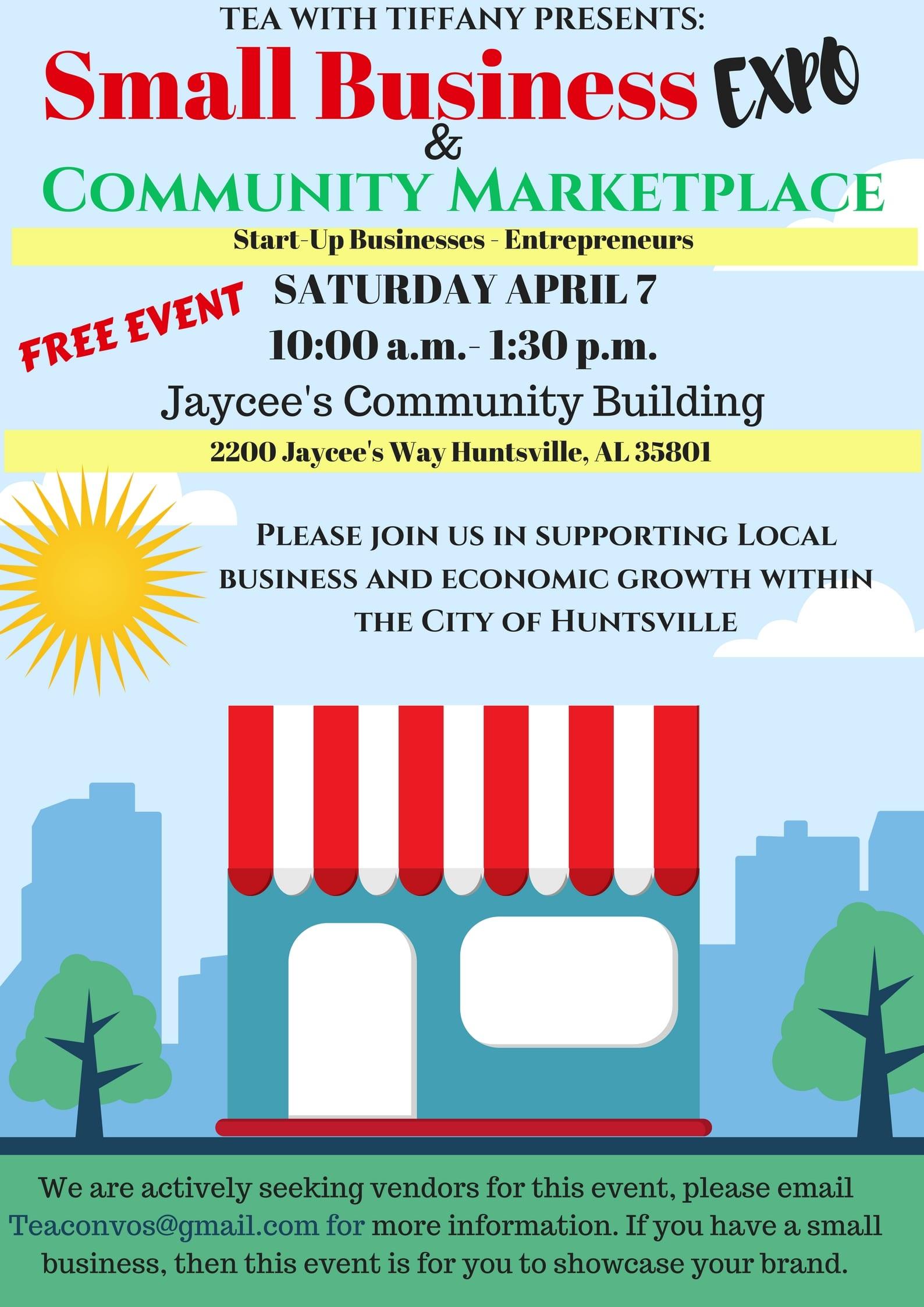 Small Business Expo & Community Marketplace | Rocket City